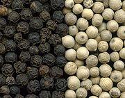 Black pepper berries