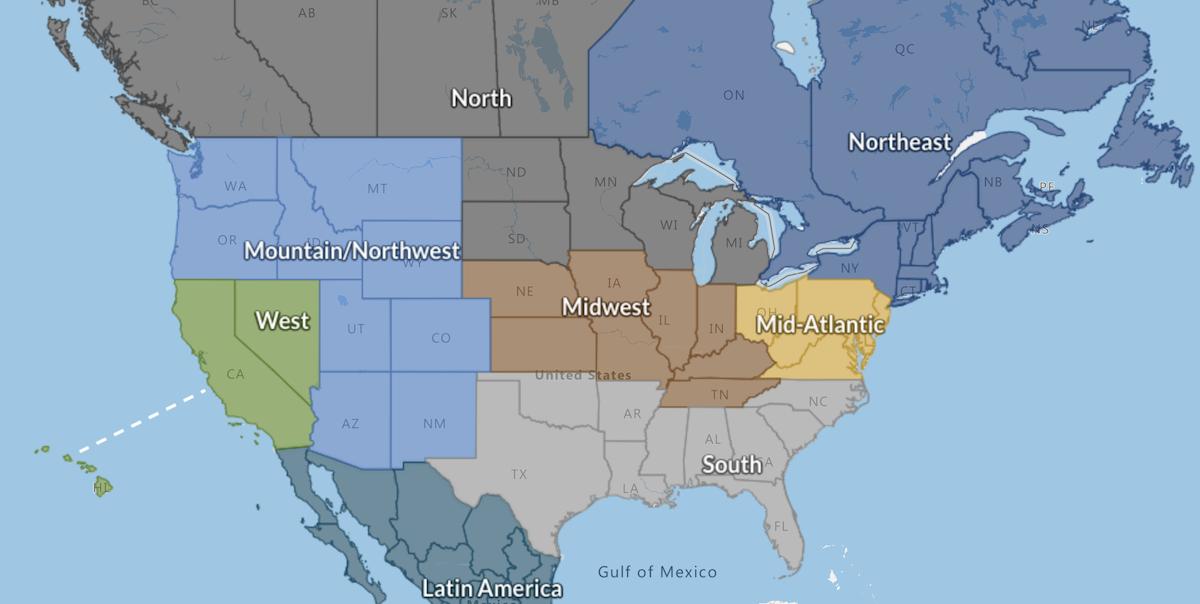 North American Regions lowres